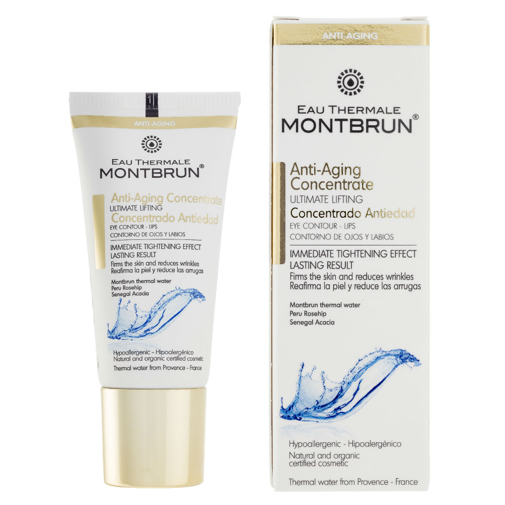 Montbrun cosmetica op basis van thermaal water